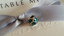Authentic Genuine Pandora S/Silver Butterfly With Teal Enamel Charm 790438EN08