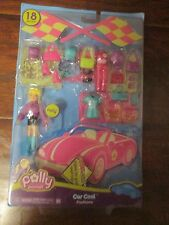 Polly Pocket CAR COOL Fashions 18pc SET doll toy NEW