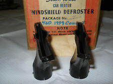 1939 Ford & Mercury Convertible Woodie Wagon Defroster Nozzles NOS Southwind