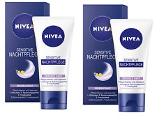 NIVEA sensitive notte cura pelle sensibili 2x50ml #640#
