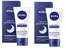 Nivea Sensitive Nachtpflege Sensible Haut 2x50ml #640#