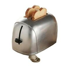 ENESCO WHERE THE SMART MONEY IS *TOASTER MONEY BANK* NEW BOXED A20623 RRP: £20!
