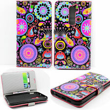 Pocket Wallet PU Leather Phone Case Cover with Magnetic Stand For LG G2 D802
