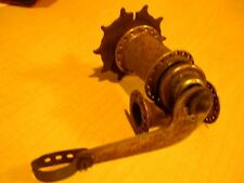 Vintage Bicycle Skip Tooth Bendix Lever Operated Rear & Front Wheel Hubs Rusty
