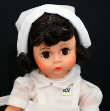 "Madame Alexander 8"" Nurse #308 Brunette Doll Box Handtag"