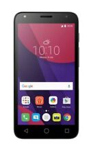 "BRAND NEW ALCATEL PIXI 4 5""/4G/8GB/5MP/ANDROID 6 BLACK MOBILE PHONE"