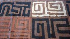 African Raffia Kuba Cloth/Textile KC016 African MudCloth