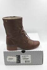 New Volcom In The Mode Women's Boots Style W4031360 Brown Leather Size 6 US