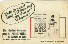 Vintage Un Tailleur French Sewing Pattern G312 Taille 44