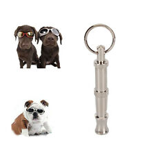 2017 Metal Dog Whistle UltraSonic Supersonic Sound Command Training Obedience