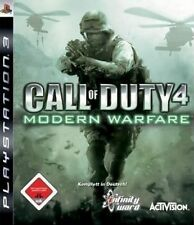 SONY PS3 MW 1 CoD Call of Duty Modern Warfare 1 komplett günstig online deutsch