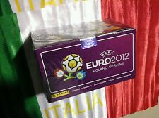 Box Euro 2012 sigillato panini 100 bustine versione italiana MINT
