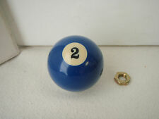 Billiard Pool Ball Shift Knob Threaded Gear Shifter Shifting Exact Fit #2
