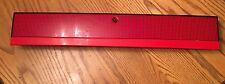 1991-93 STEALTH OEM REAR TRUNK CENTER TAIL LIGHT FINISH PANEL ASSEMBLY RED NICE