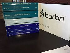 BRAND NEW BARBRI CALIFORNIA (CA) 2016 ~ 2017 COMPLETE BAR REVIEW  SET PLUS BONUS