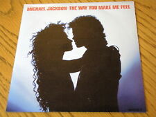 "MICHAEL JACKSON - THE WAY YOU MAKE ME FEEL  7"" VINYL PS"