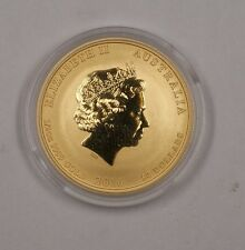 2016 Australia Perth Mint $50 Dollar UNC Monkey Gold Coin 1/2 Oz .999 Fine