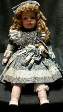 "Rare Goebel Porcelain Musical Doll ""Beth"" Betty Jane Carter"