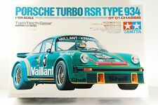 Tamiya 1/12 SCALE TamTech Gear Porsche Turbo RSR TYPE 934 GT-01 CHASSIS RARE!!