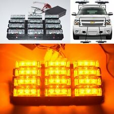WATERPROOF AMBER 36 LED WARNING STROBE KIT AS RESCUE/TRAFFIC/ADVISOR LIGHT A