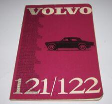 Betriebsanleitung Volvo 121 / 122 Amazon Bedienungsanleitung auf Deutsch 10/1963