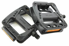 "MEDIUM SIZE 1/2"" BIKE PEDALS GREAT QUALITY WELLGO SUIT BMX & ANY BIKE WITH OPC"
