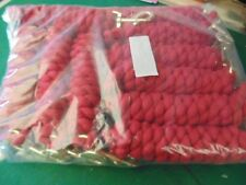 JOB LOT OF NEW CLIP ROPES X 10 RED