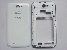 White Housing Middle Frame+Battery Cover For Samsung Galaxy note2 i605 L900