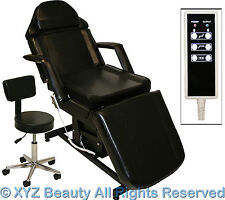 Fully Electric Black Massage Facial Table Bed Chair Beauty Spa Salon Equipment