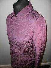 """Barbour Cynthia Sheen Quilt Jacket  Size 16 """"excellent"""" LQU005PU71"""