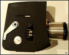 Vintage Working TOWER VARIZOOM 16mm Movie Camera: Model 584 w/ Carry Case & Film