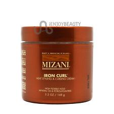 Mizani Iron Curl Heat Styling and Curling Cream 5.2oz /w Free Nail File