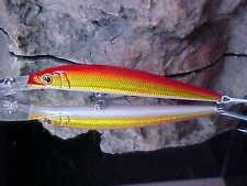 """Strike Pro 4 3/8"""" Floating ALPHA Deep Diver Minnow JL-062#132 SUNRISE for SPECKS"""