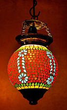 Vintage Antique Hanging Ceiling Lamp Light Moroccan Swag Indian Pendant Lamp 13""