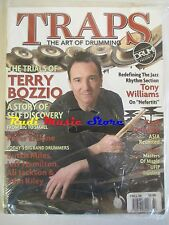 TRAPS Magazine SEALED Fall 2008 Terry Bozzio Jeff Hamilton Peter Erskine No cd