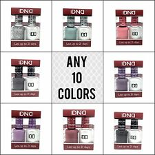 DND DAISY DUO UV GEL UV NAIL POLISH - ANY 10 COLORS OF YOUR CHOICE - USA MADE