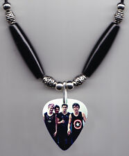 5 Seconds of Summer Band Photo Guitar Pick Necklace #3 - 5Sos