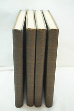STORY OF THE BIBLE 4 VOLUME SET GUTENBERG BINDING 1950 OLD NEW TESTAMENTS HB
