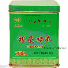 CHINA TIAN HU SHAN  LOOSE LEAF   GREEN TEA 1 LB ( 16 OZ ) TIN