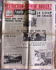L'AUTO-JOURNAL n°162 du 11/1956; Essai de la FN 250 CM3/ Voiture Anglaise