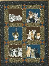 Kitten Play quilt pattern by Terry Albers of Hedgehog Quilts