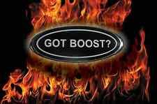 EMBLEM OVERLAYS FOR FORD f 150 250 350 got boost? black/ white front & rear set