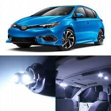 10 x Xenon White LED Interior Lights Package For 2016 and UP Scion iM Hatchback