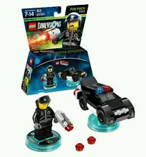 Lot of 24pk LEGO DIMENSIONS The Lego Movie Fun Pack 71213 Bad Cop Police Car NIB