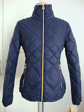 MICHAEL KORS Daunenjacke Damen Lightweight Packable Down Blue Gr.M NEU+ETIKETT