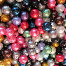 Wholesale & Job Lots 1000 Gms Of Mixed 8mm Glass Beads In Assorted Colours