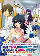 Anime DVD: And You Thought There Is Never A Girl Online? (1-12 End)_FREE SHIPPIN
