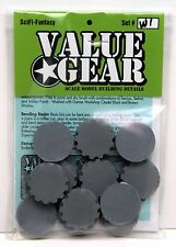 War Game & Figure Bases WGB #1 - Value Gear Resin 28mm 1/35-1/56
