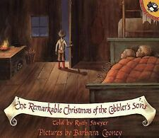 The Remarkable Christmas of the Cobbler's Sons (Picture Puffins), Sawyer, Ruth,