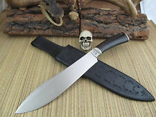 Kevin Cashen MS ABS Master Smith Custom Forged/Handmade Camp  Bowie Knife Sheath